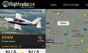 Flightradar24 D-EIEM