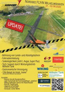 Bild: Flyer Nordsee-Fly-In 2020