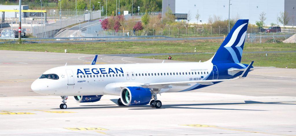 Bild: Aegean-Flugzeug
