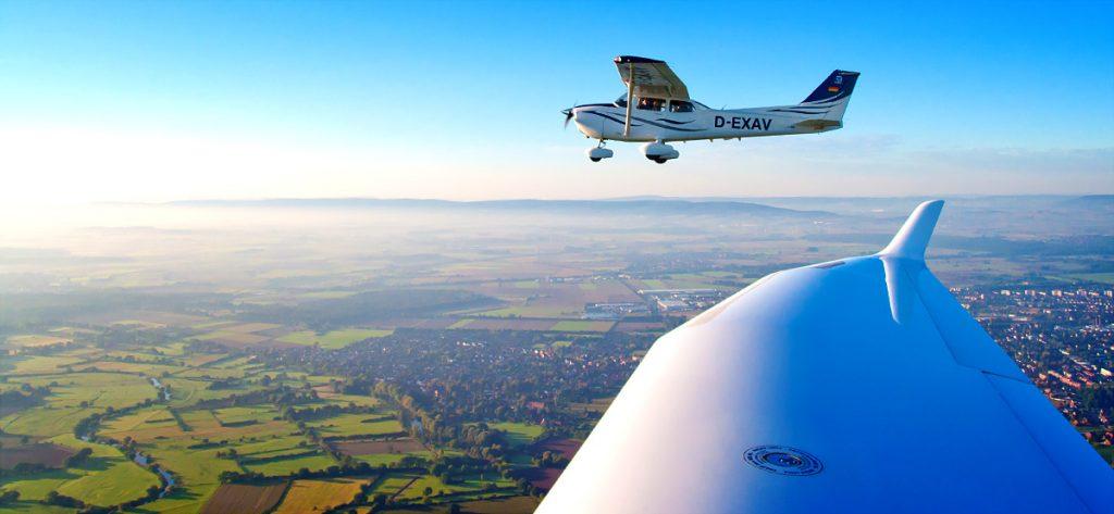 Bild: Air-to-Air-Foto