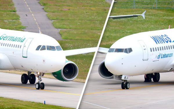 Bild: Airbus und Boeing