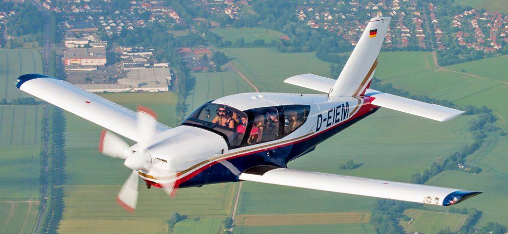 Bild: Socata TB20 aus der Luft