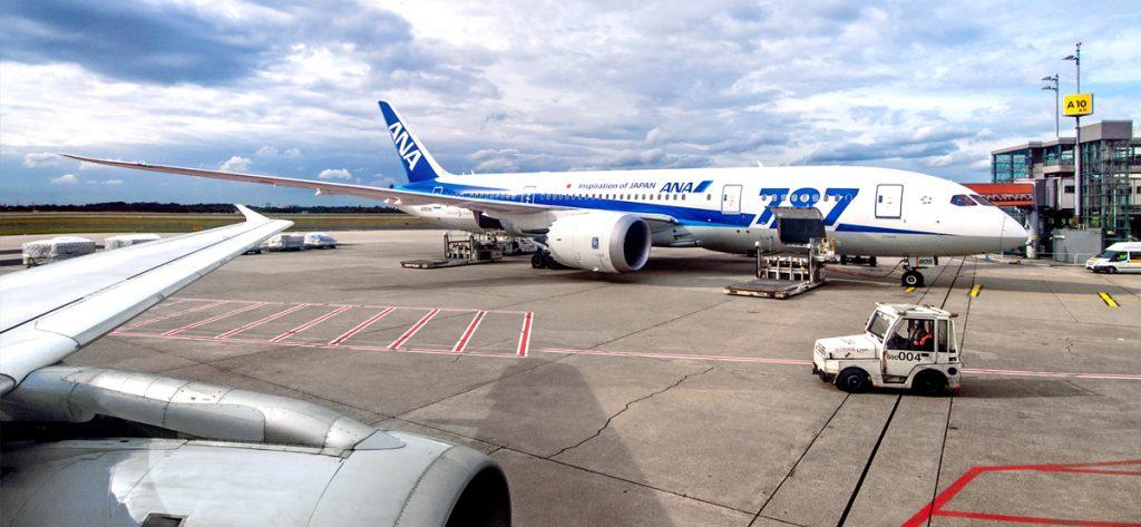 Bild: Boeing 787-8 Dreamliner ANA JA805A