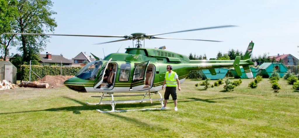 Bild: Bell 407 D-HHBB