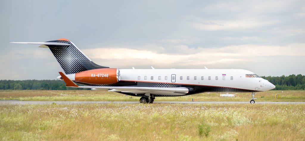 Bild: Bombardier Global RA-67246