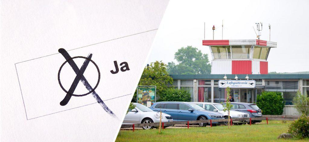Bild: Flugplatz Lüneburg