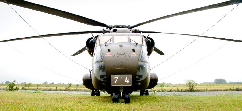 Bild: Sikorsky CH-53 frontal