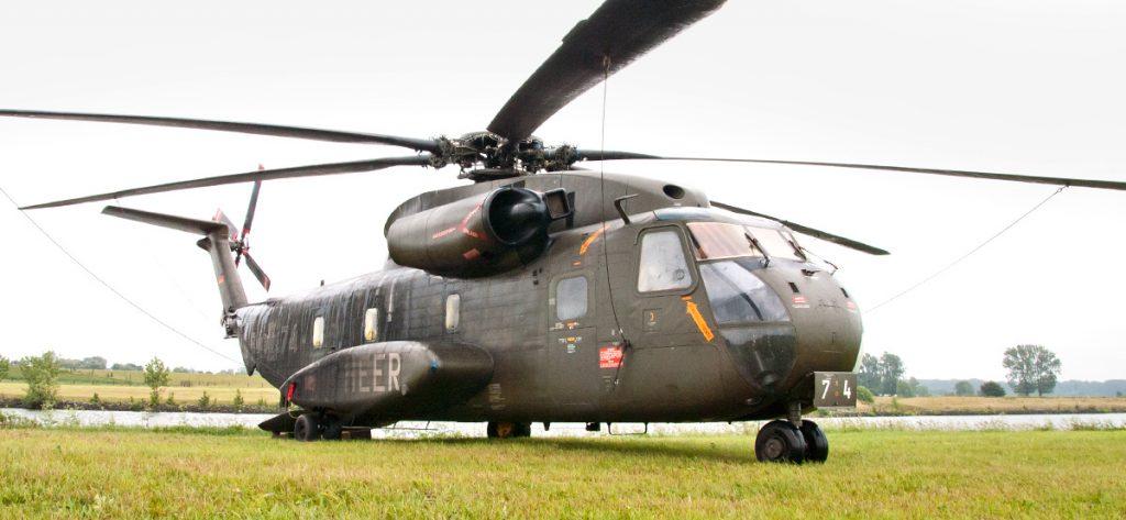 Bild: Sikorsky CH-53 seitlich