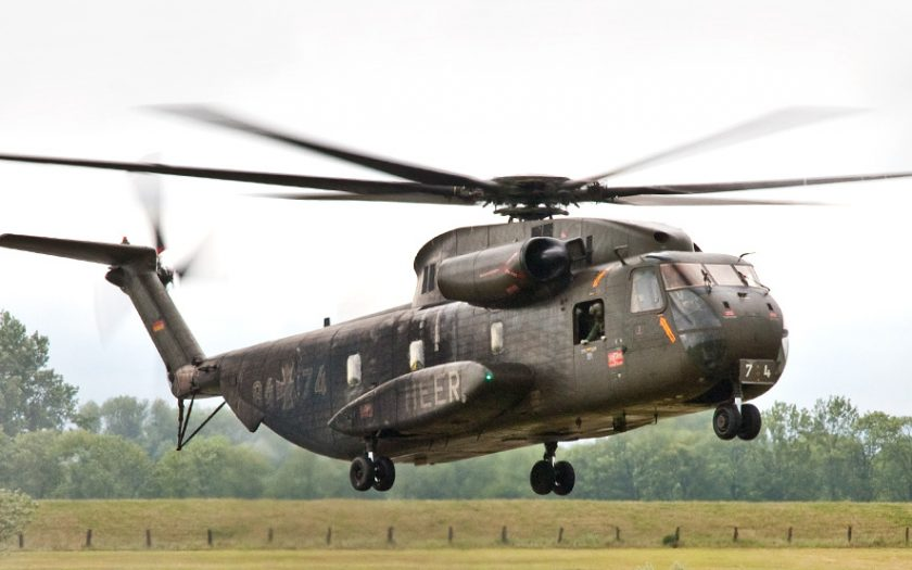 Bild: Sikorsky CH-53 beim Start