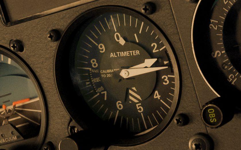 Cessna 172 Altimeter