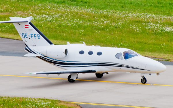 Bild: Cessna Citation Mustang OE-FFB