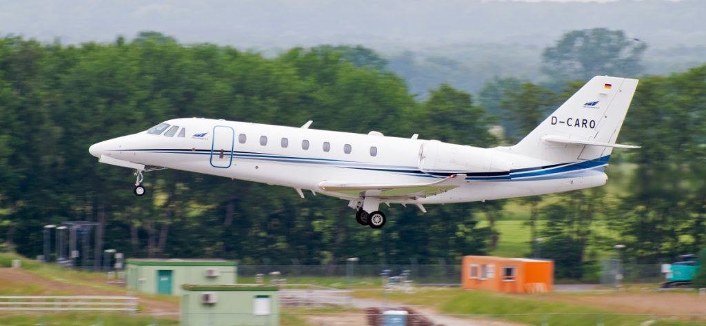 Bild: Cessna Citation Privatjet