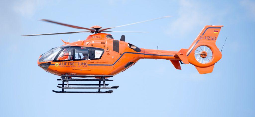 Bild: Christoph 4 in Orange (D-HZSD)