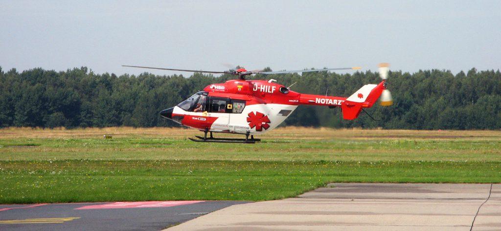 Bild: DRF-Hubschrauber D-HILF