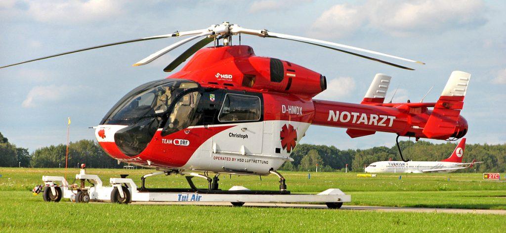 Bild: DRF-Hubschrauber D-HMDX