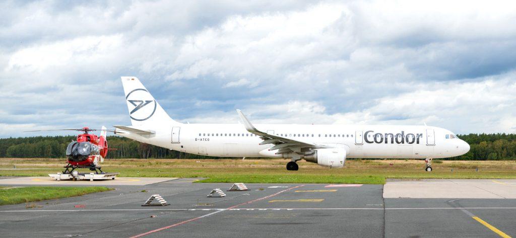 Bild: Christoph Niedersachsen und Flugzeug