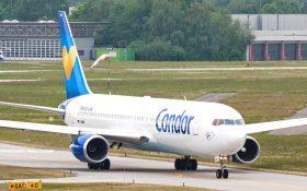 Bild: Condor-Flugzeug