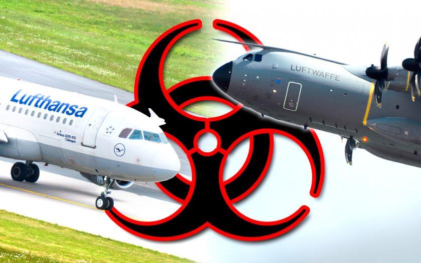 Bild: Lufthansa und Luftwaffe