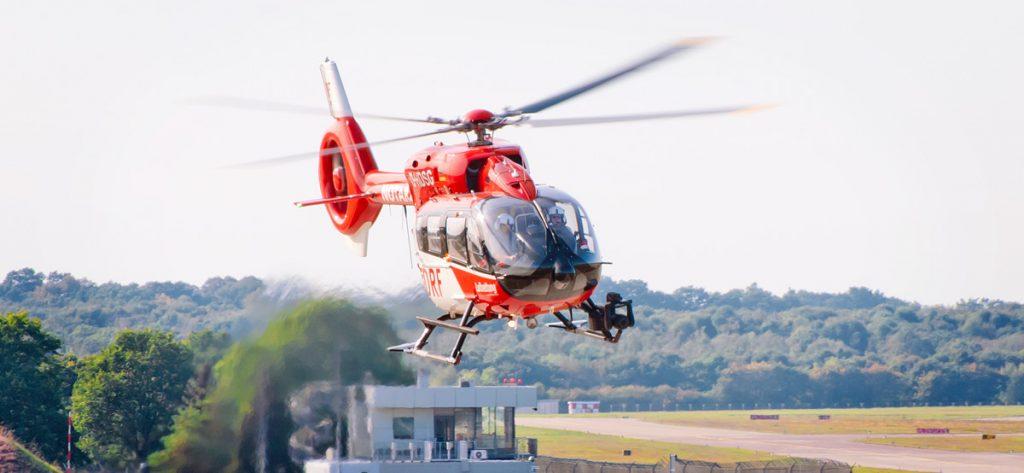 Bild: Hubschrauber D-HDSG