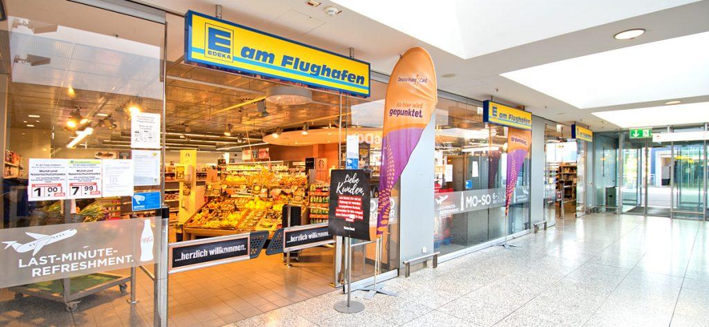 Bild: EDEKA am Flughafen Hannover