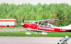 Bild: Flugzeug Feuerwehrflugdienst