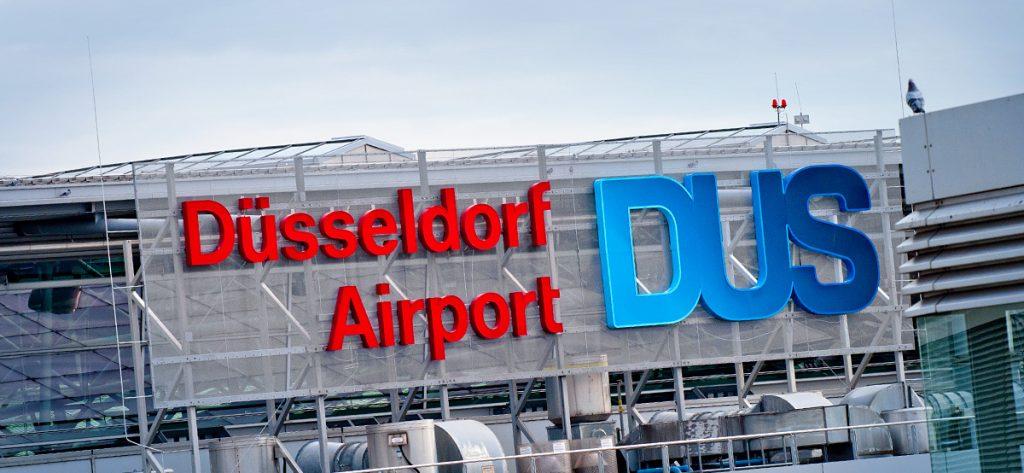 Bild: Logo Düsseldorf Airport