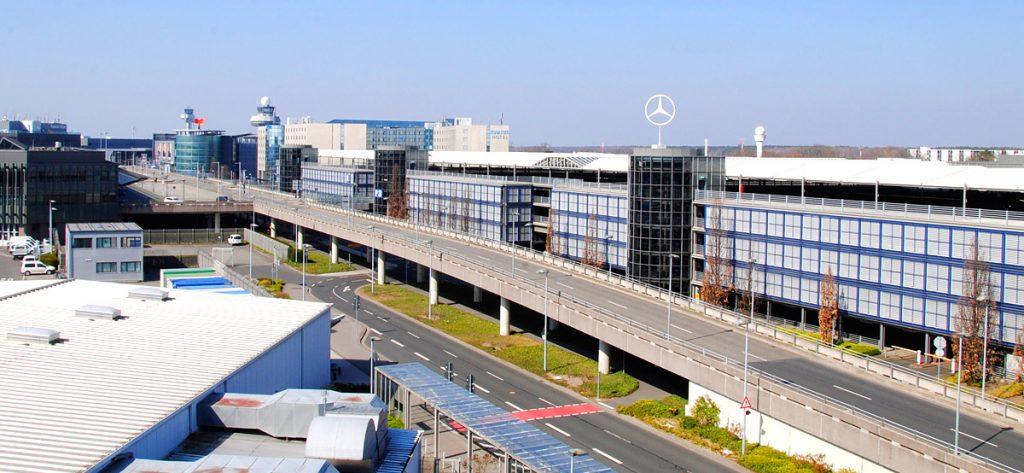 Bild: Flughafen Hannover Hochstraße