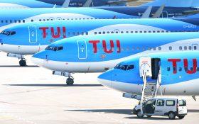 Bild: TUI-Flugzeuge eingemottet