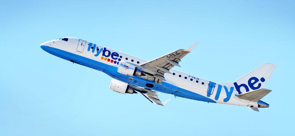Bild: Flybe-Flugzeug