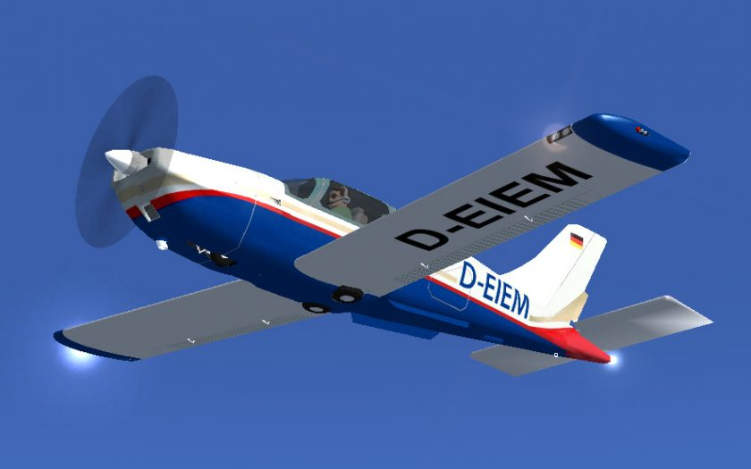 FSX-Screenshot: Socata TB20