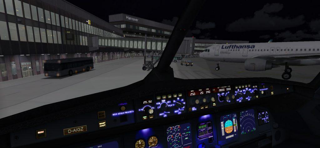 Bild: D-AIGZ am Flughafen Hannover (FSX)