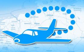 Grafik: Online Flight Tracking