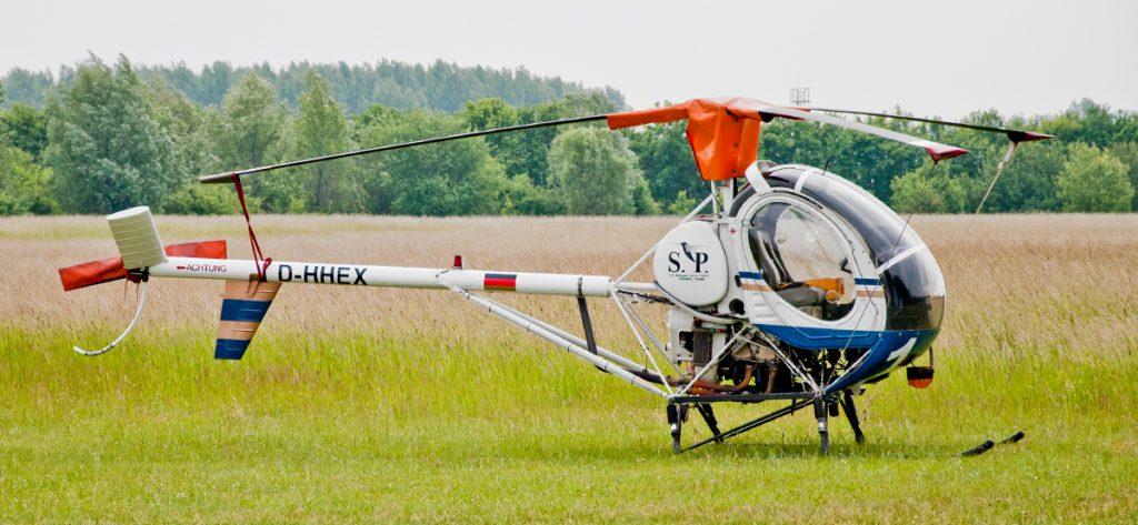 Bild: Hubschrauber D-HHEX