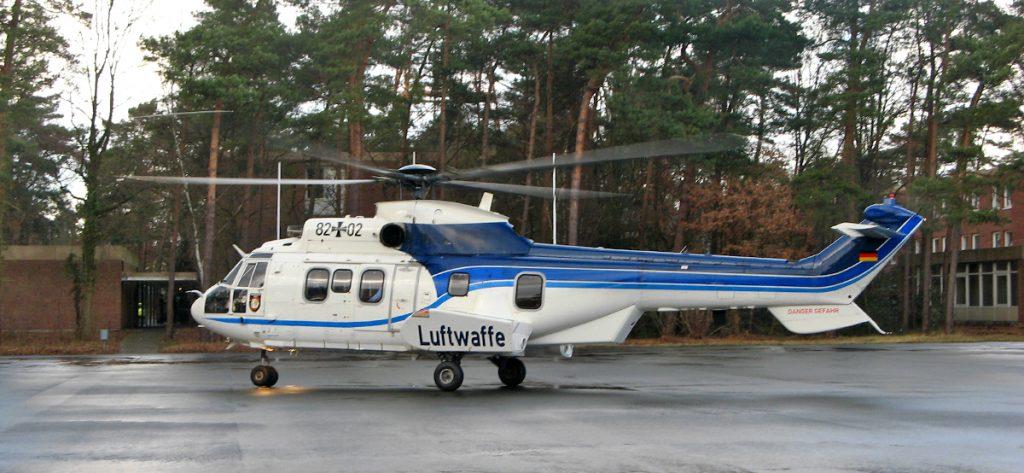 Bild: Hubschrauber der Flugbereitschaft