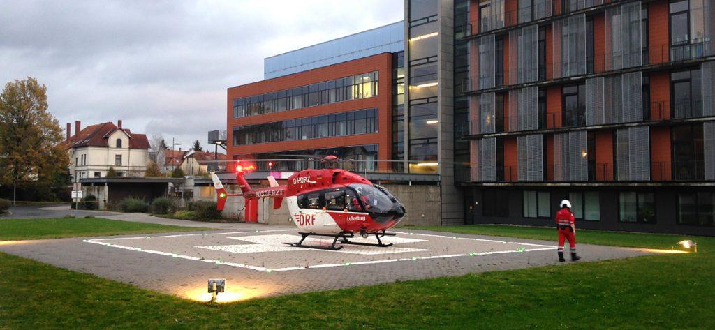 Bild: Hubschrauber in Hameln