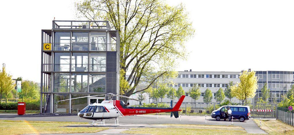 Bild: Heliport Hannover Messe