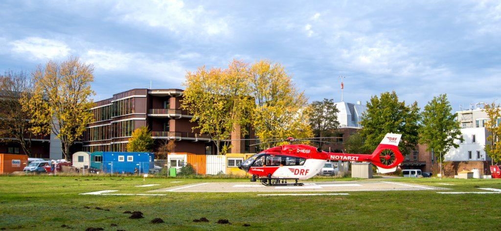 Bild: Hubschrauber in Hannover
