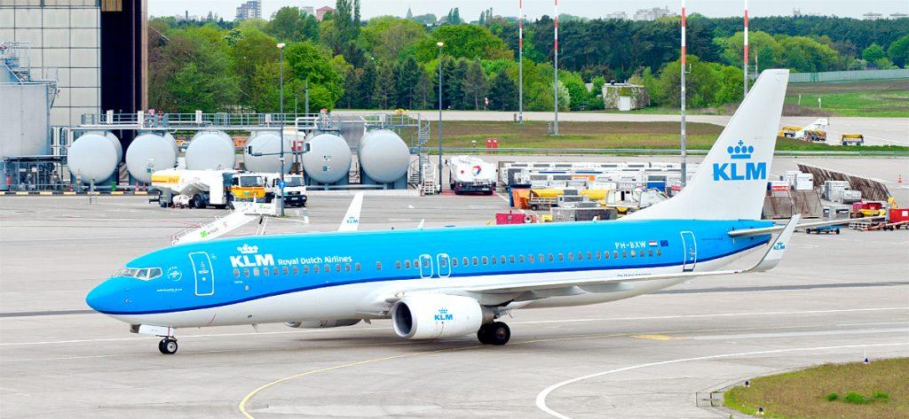 Bild: KLM Flugzeug