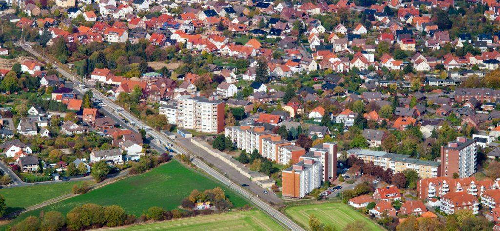 Bild: Luftbild Kirchdorf Deister