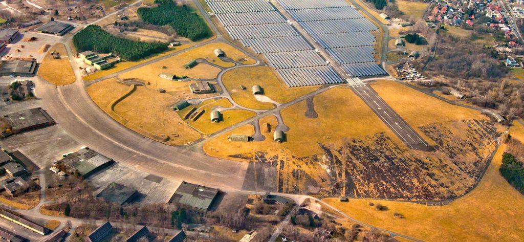 Bild: Luftbild Ex-Fliegerhorst Oldenburg