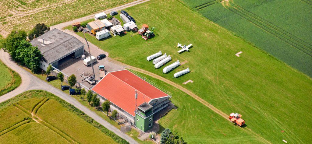 Bild: Flugplatz Bisperode (Luftbild)