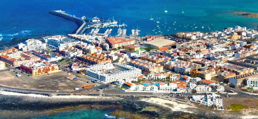 Bild: Luftbild Corralejo