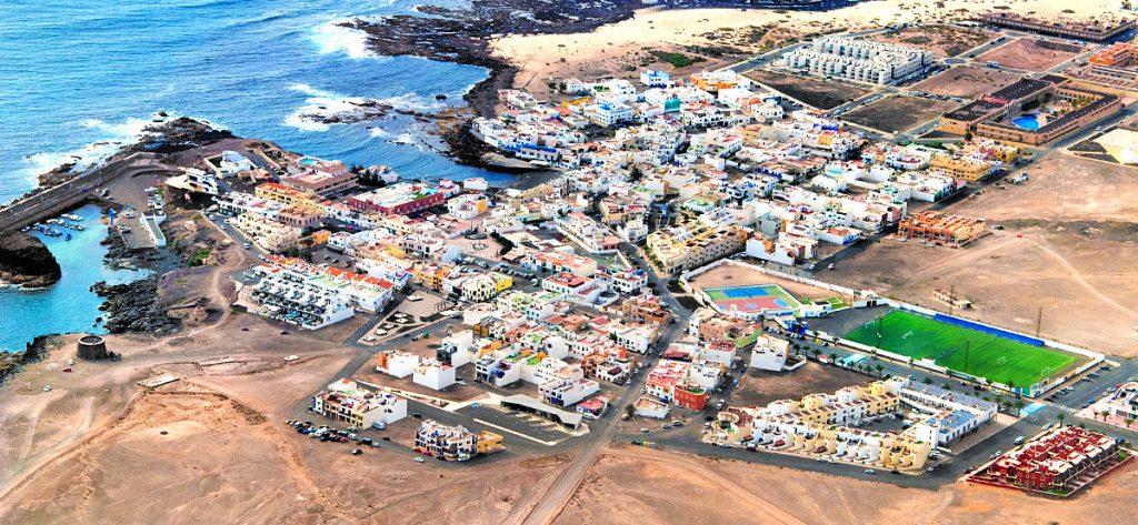 Luftbild: El Cotillo Fuerteventura