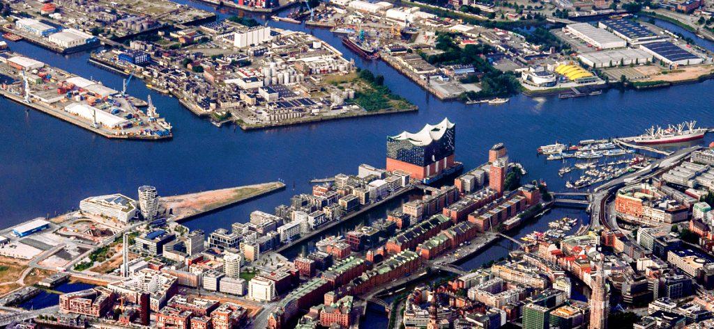 Bild: Luftbild Hamburg City
