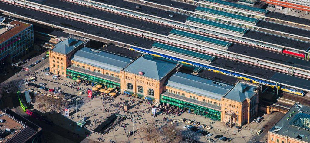 Bild: Luftbild Hannover Hbf