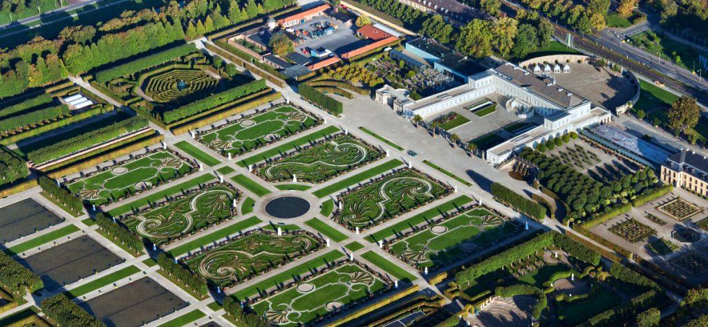 Bild: Luftbild Herrenhäuser Gärten Hannover