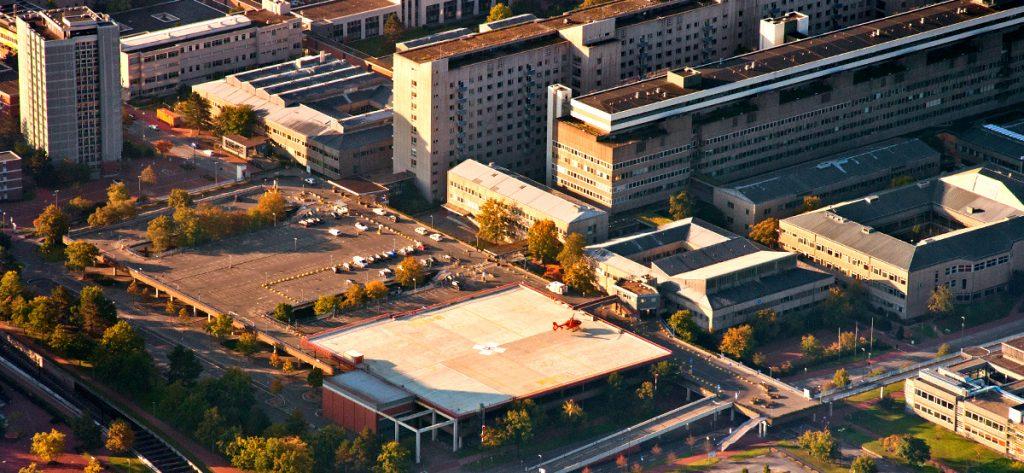 Bild: Landeplatz MHH mit Christoph 4