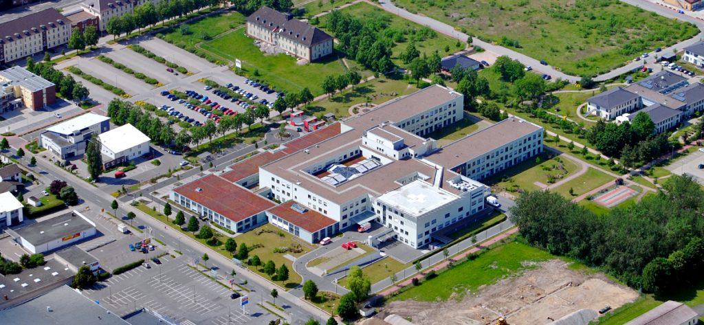Bild: Luftbild Krankenhaus Nienburg