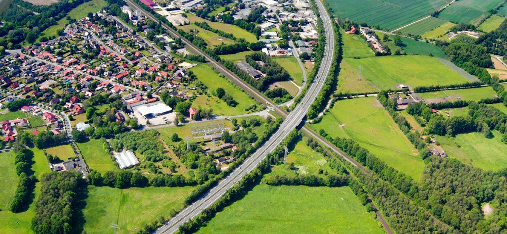 Bild: Luftbild Nieburg