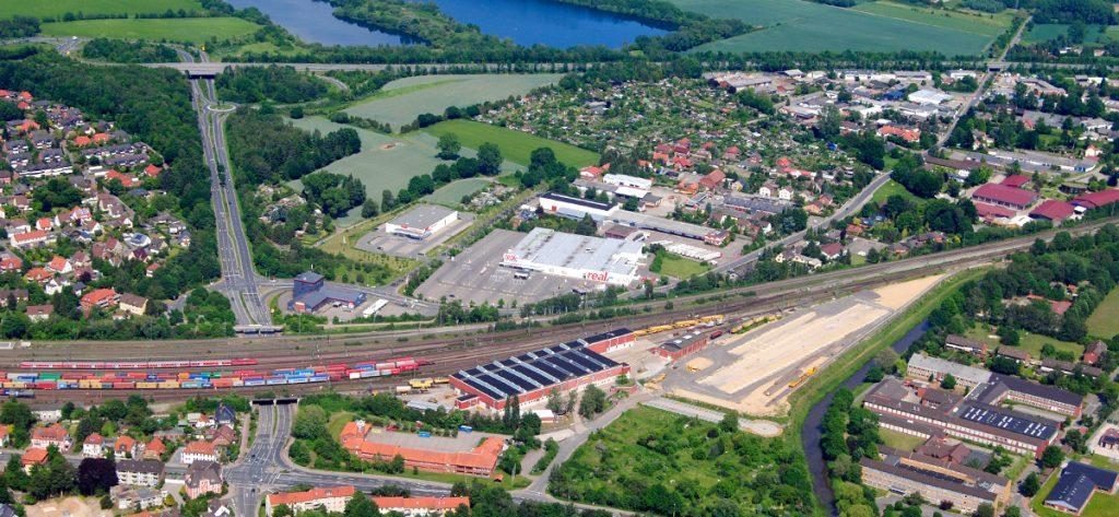 Bild: Luftbild Nienburg
